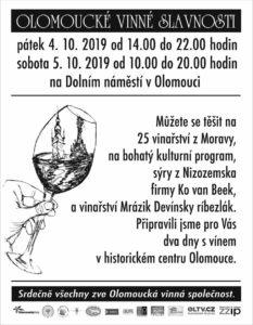 Olomoucké vinné slavnosti – Olomouc – Dolní náměstí